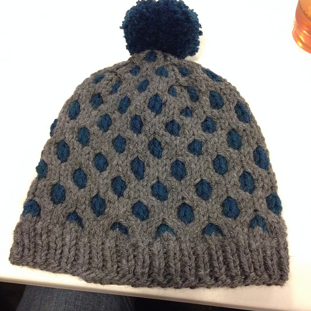 tweedy honeycomb toque